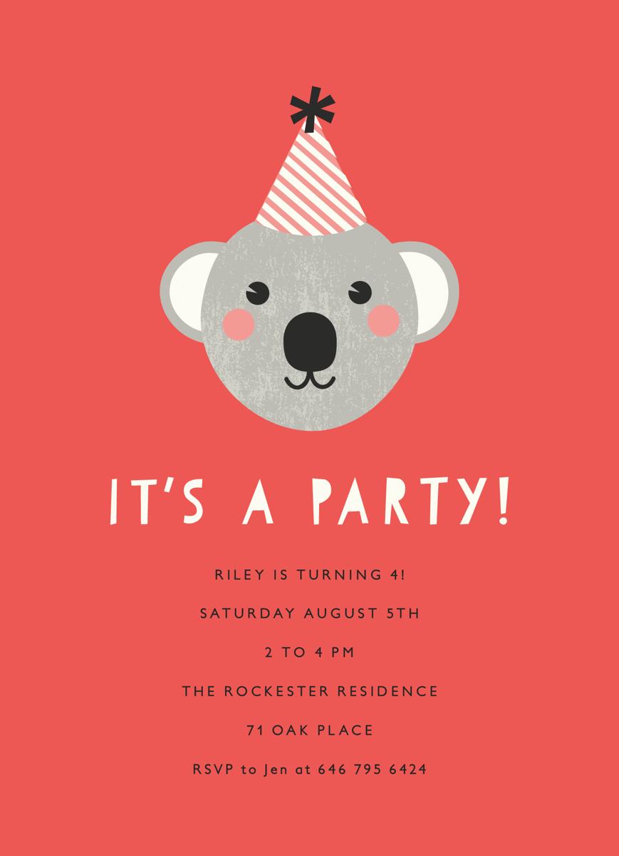 Koala Party