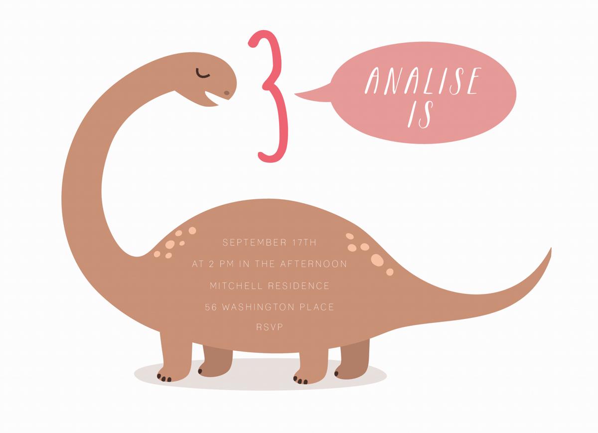 Dinosaur Kids Birthday