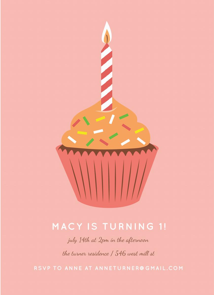 Cupcake Kids Birthday