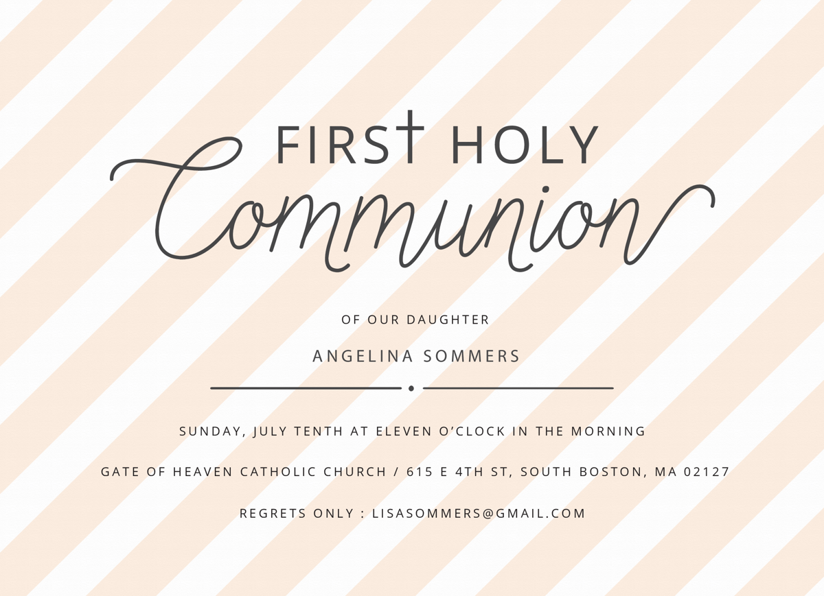 Communion Stripes
