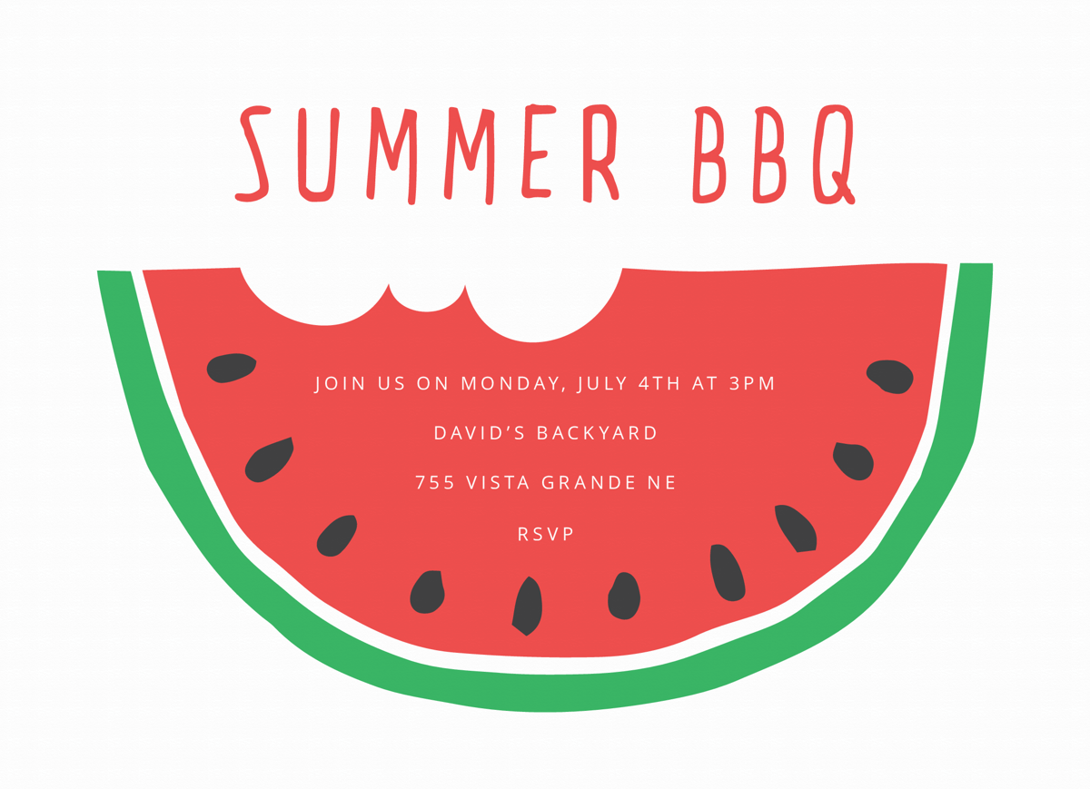Watermelon BBQ