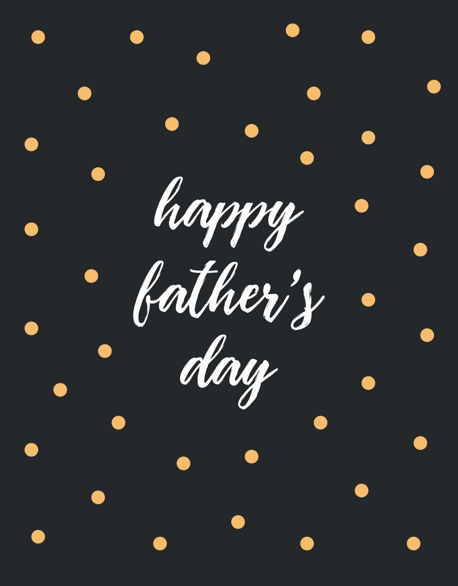 Father's Day Dot Pattern
