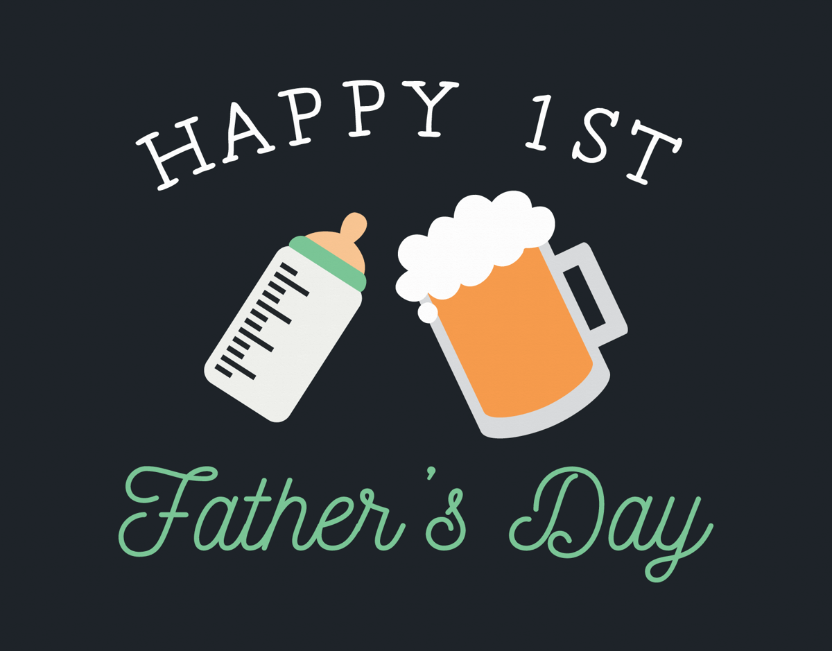 Cheers First Father's Day