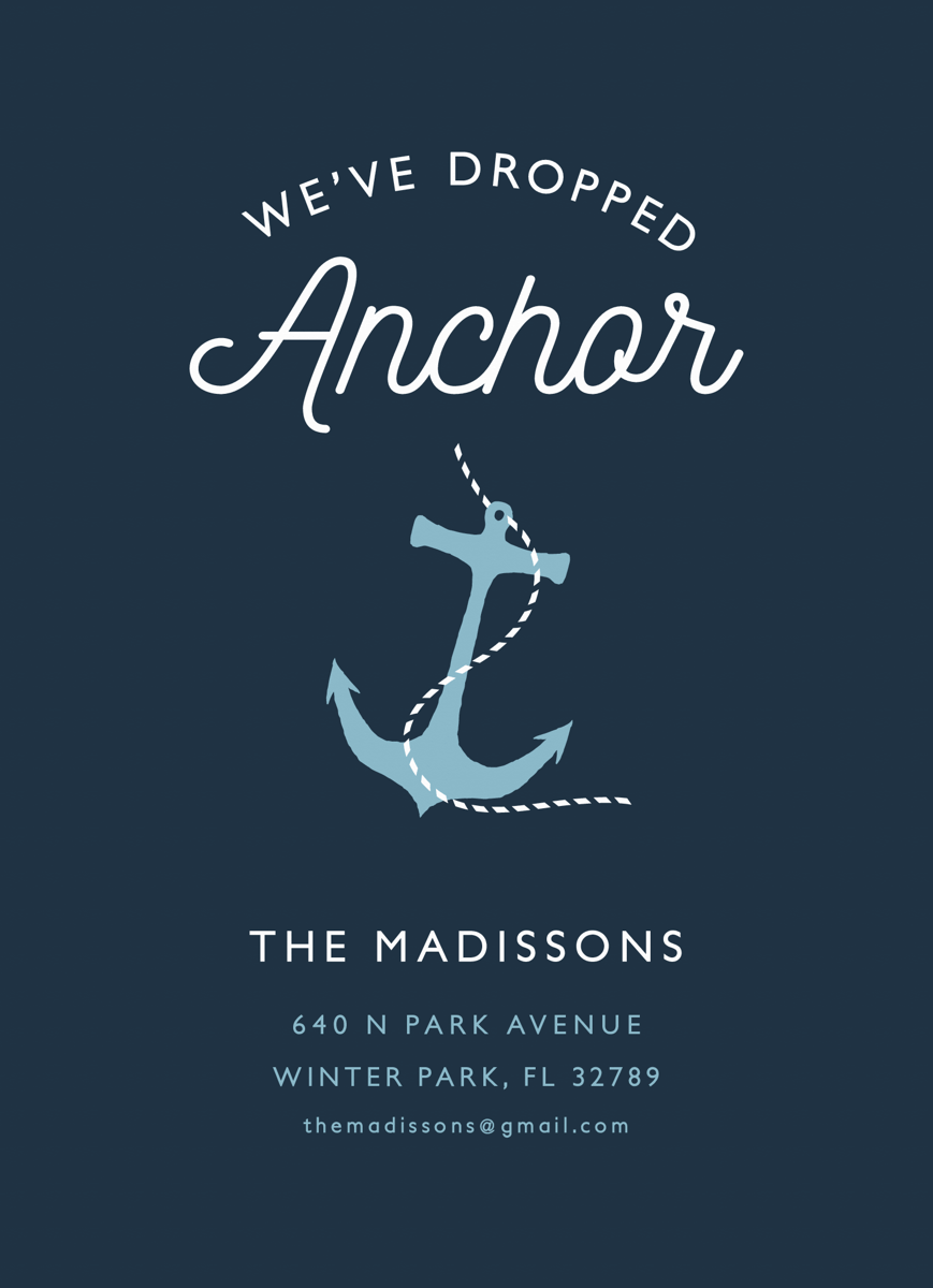 Anchor Moving