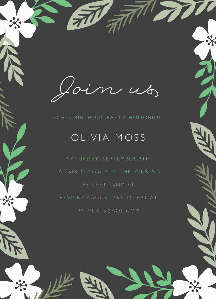 Join Us Garden Party