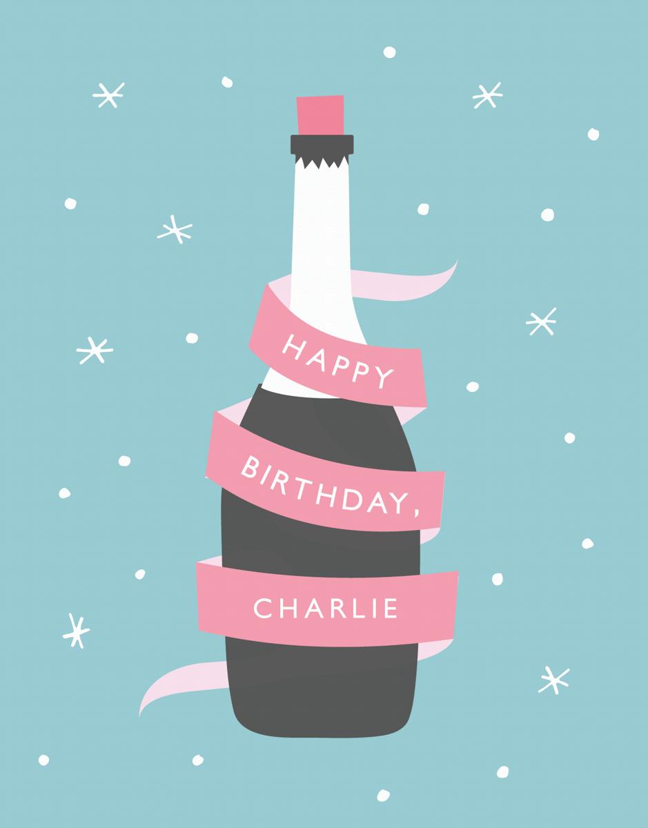 Champagne Birthday