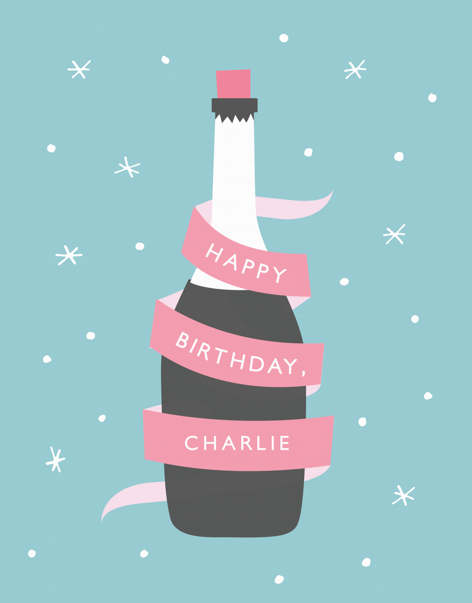 Champagne Birthday