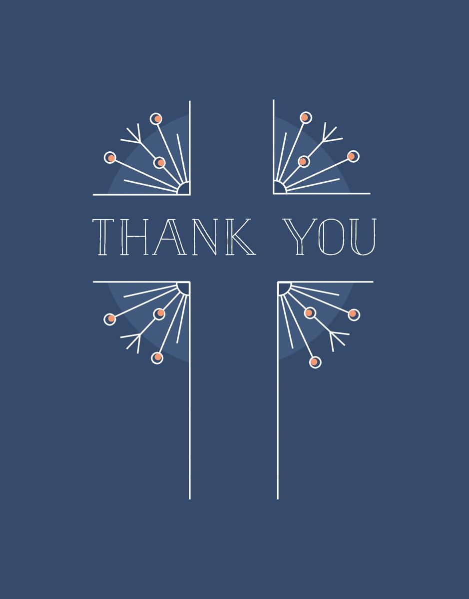 Thank You Cross