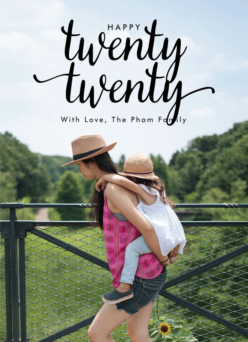 Twenty Nineteen Lettering