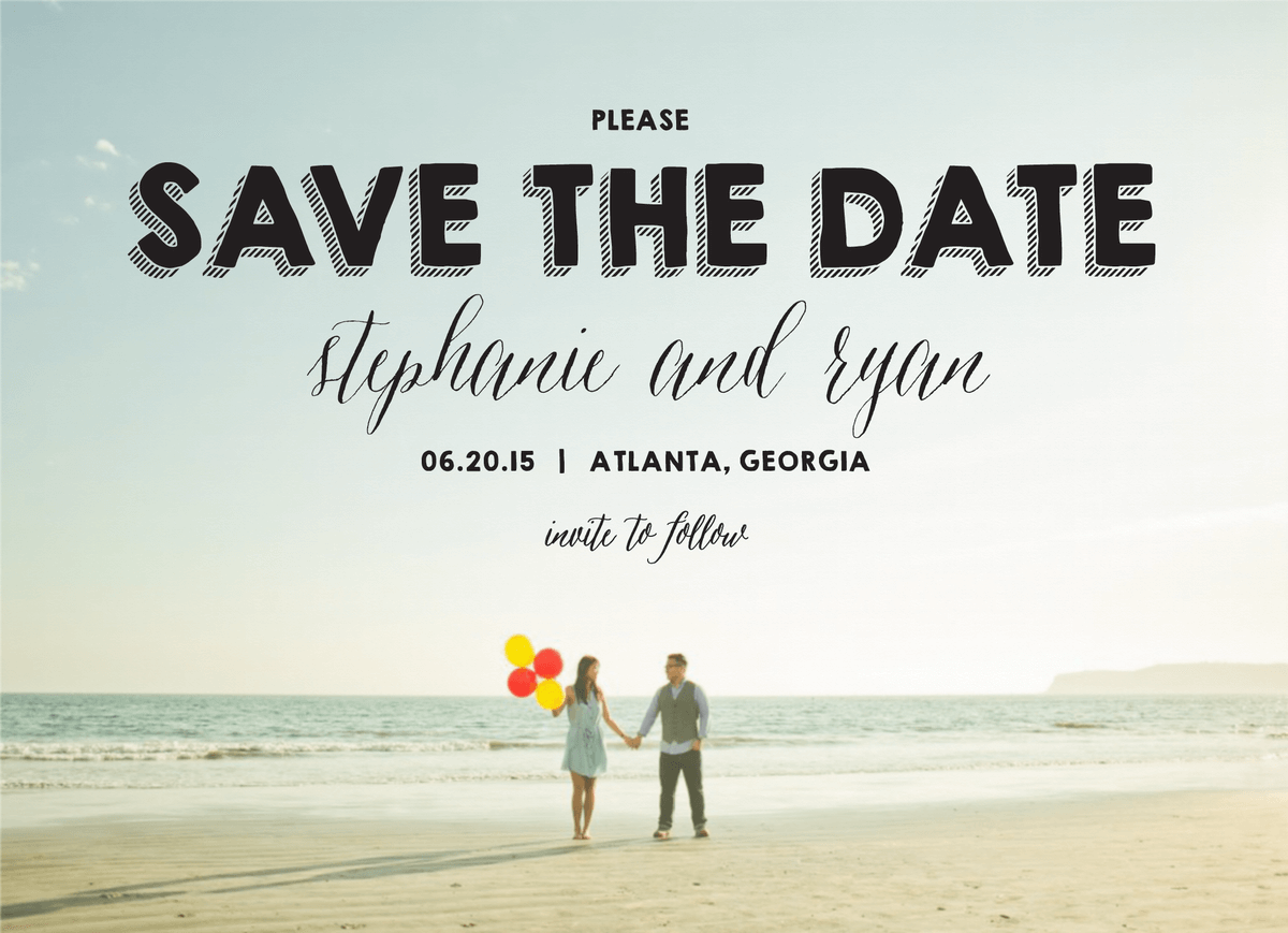 Happy Day Save the date