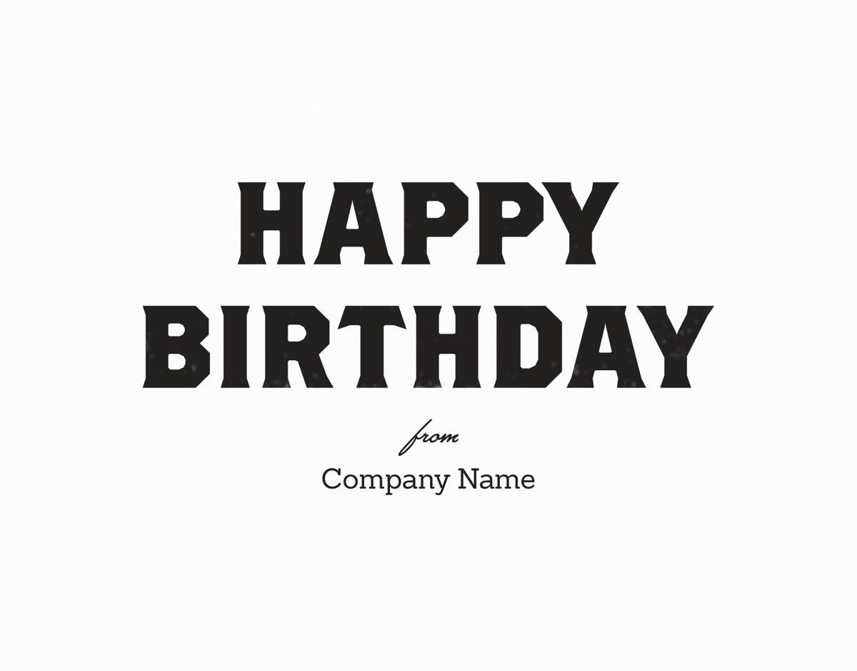 Business Birthday