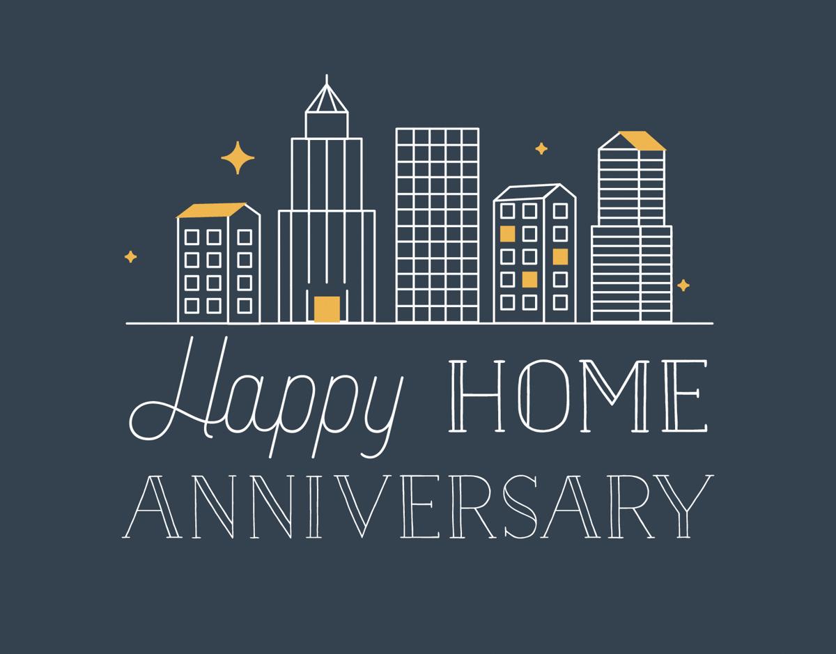 City Home Anniversary