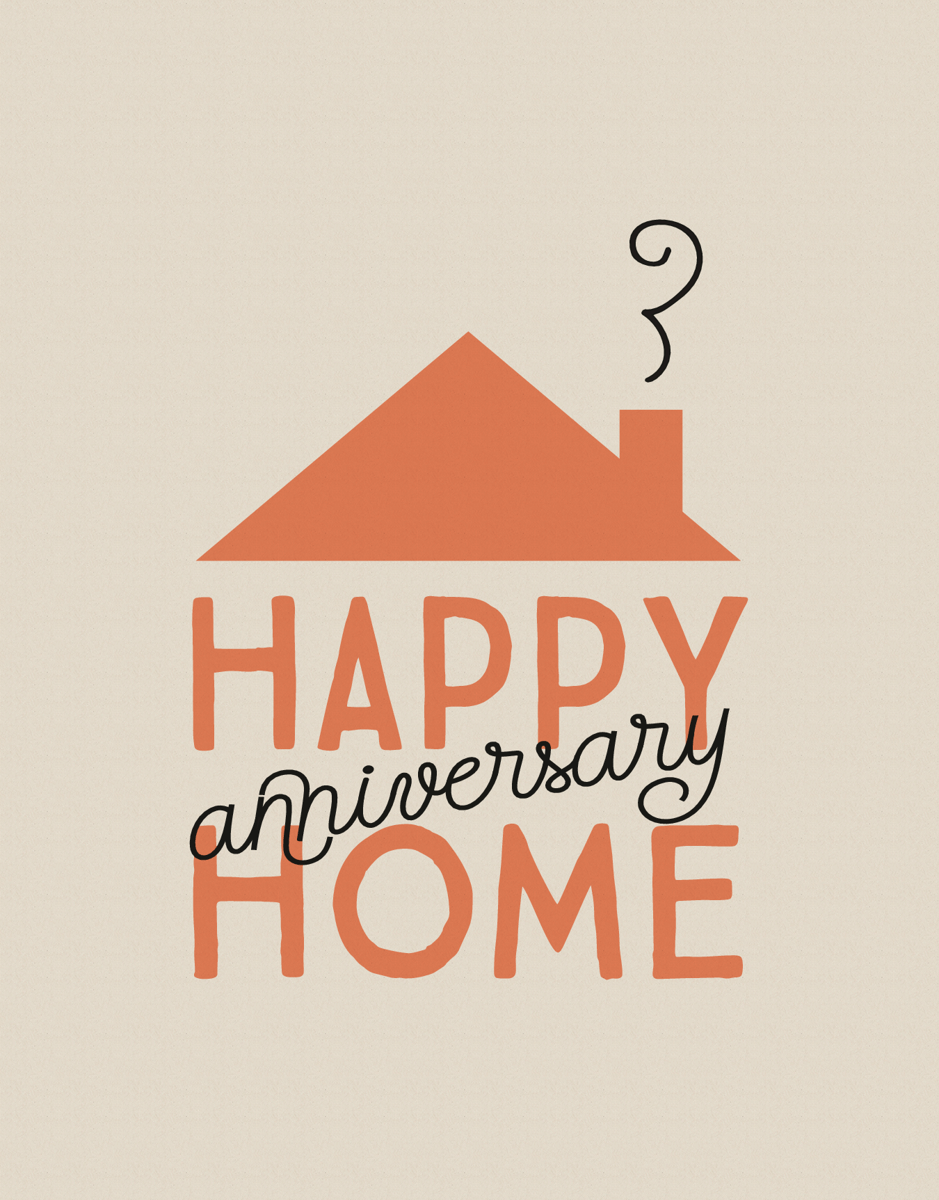 Happy Home Anniversary