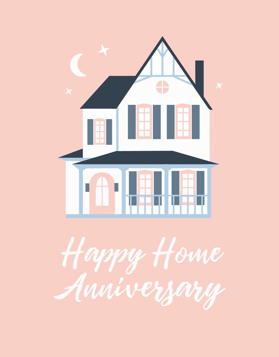 Pink Home Anniversary