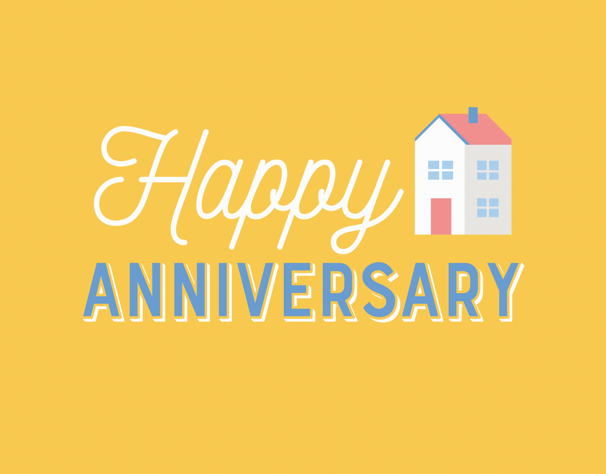 Yellow Home Anniversary