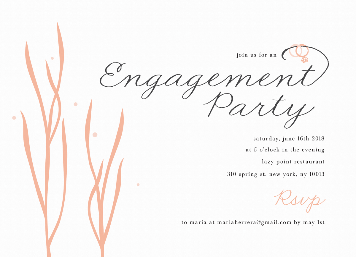 Under The Sea Engagement Party