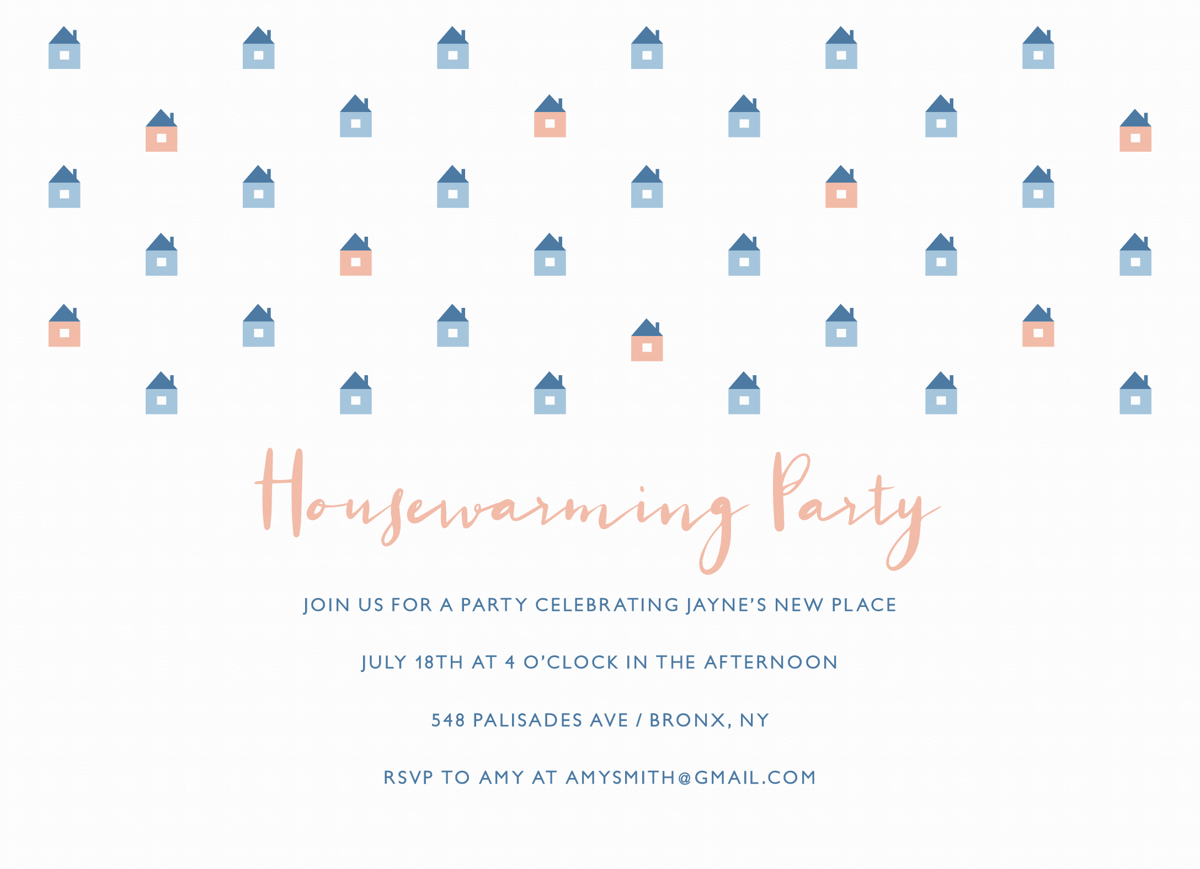 Housewarming Pattern