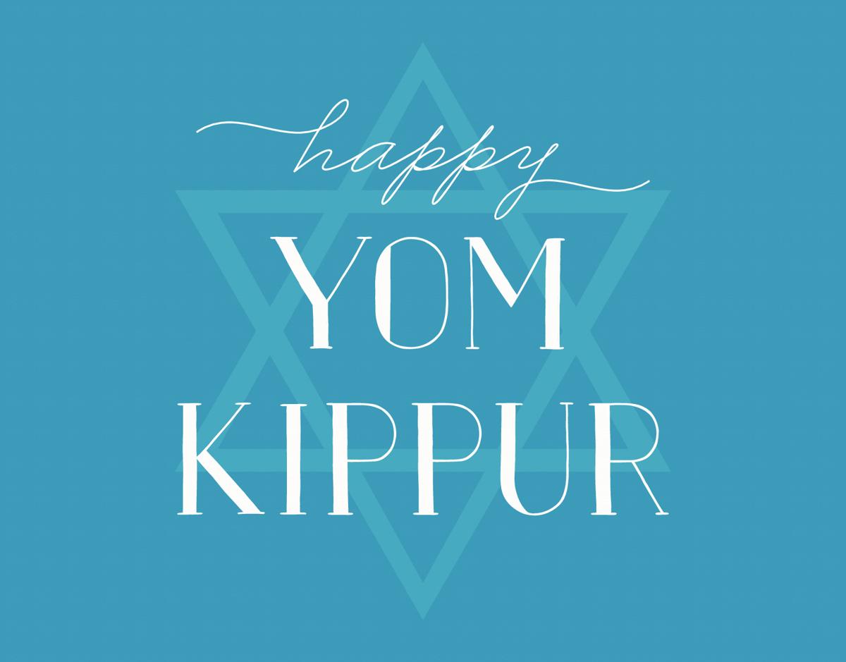Simple Yom  Kippur