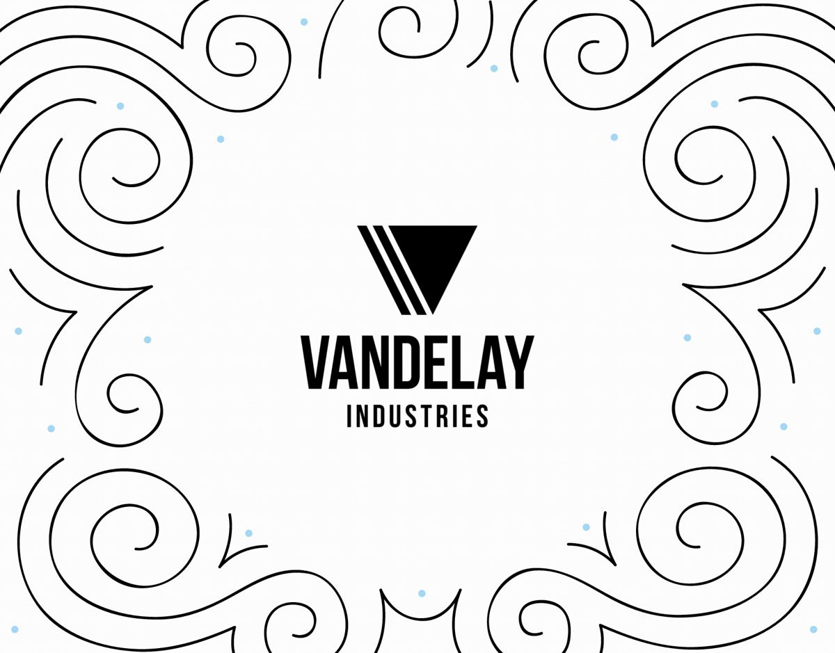 Decorative Business Logo Card