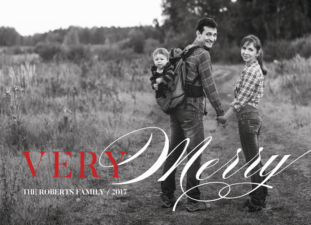 Very Merry Photo Overlay