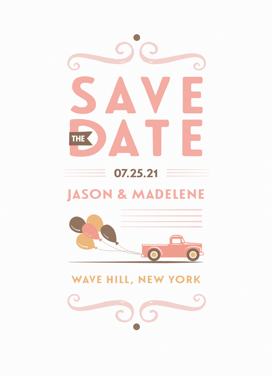 Newlyweds Save The Date