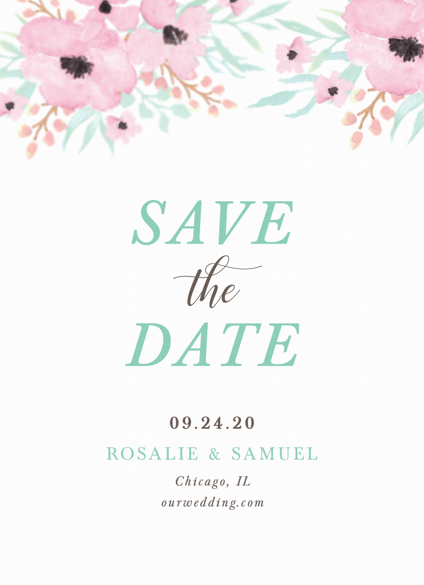 May Garden Save The Date