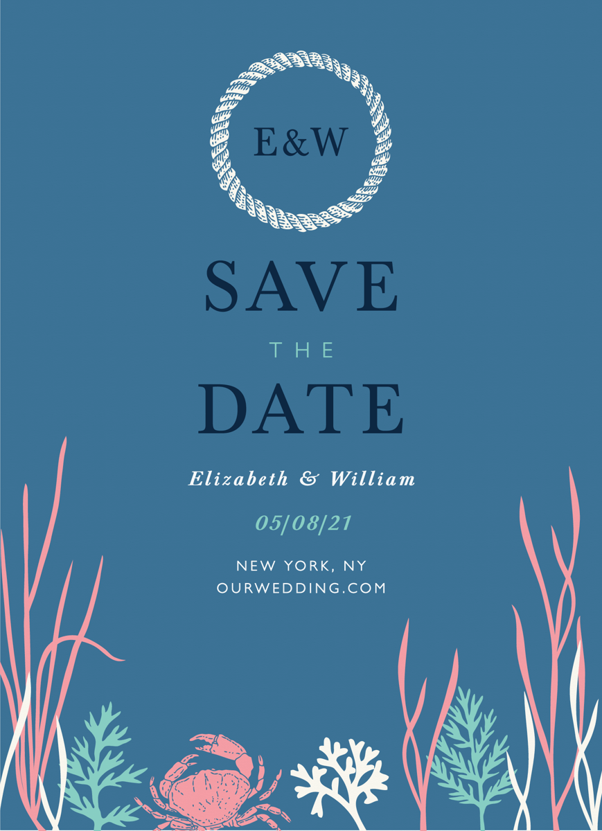 Underwater Save The Date