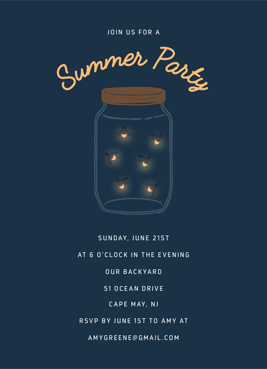 Firefly Invite