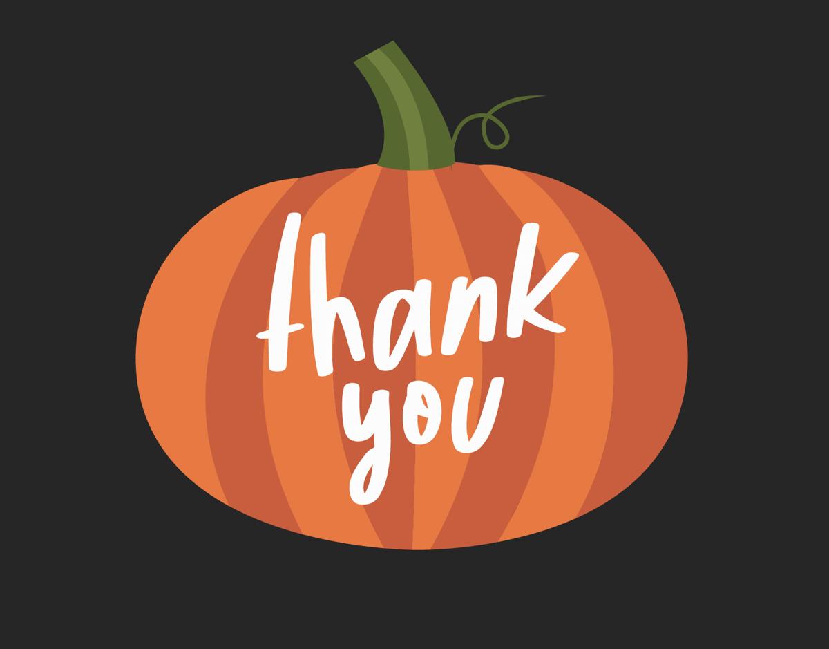 Pumpkin Thank You