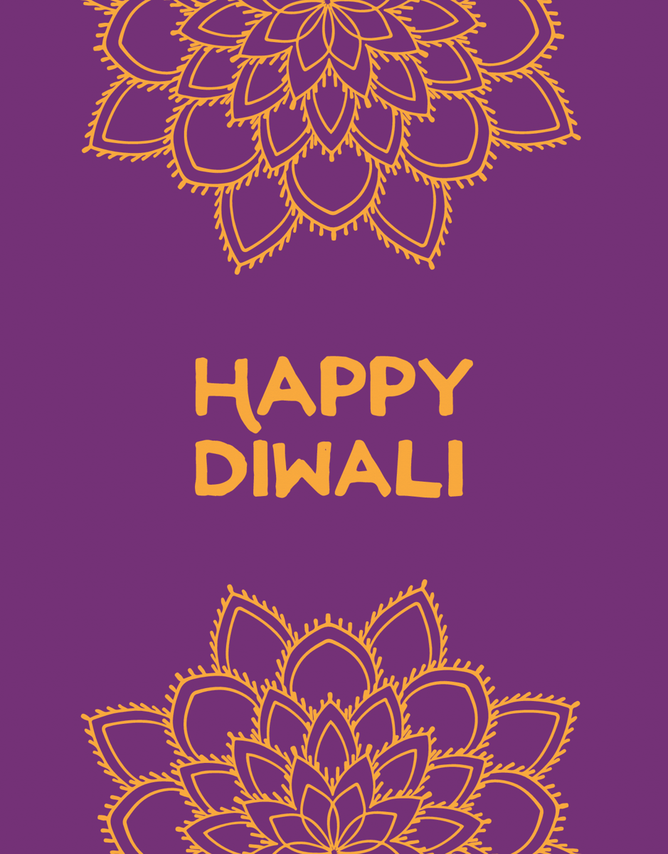 Happy Diwali Mandala