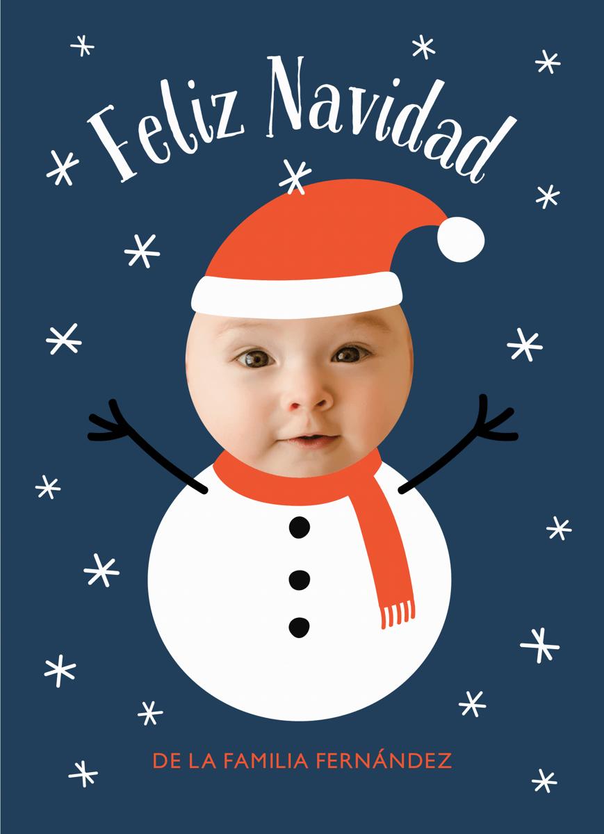Bebé Muñeco De Nieve