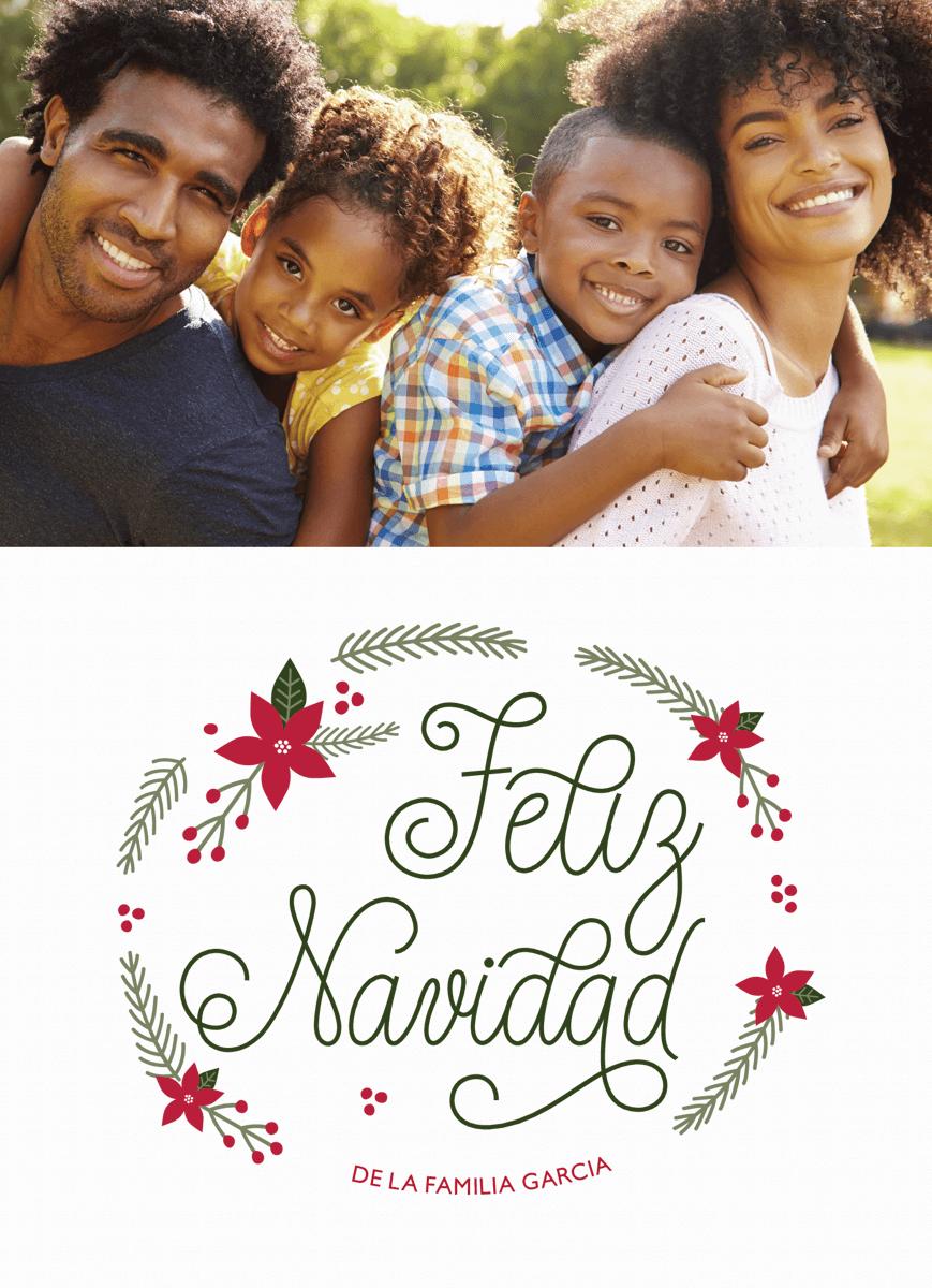 Verde Feliz Navidad