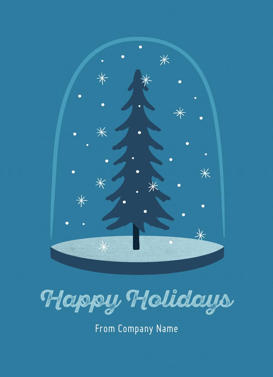 Snow Globe Business Holiday