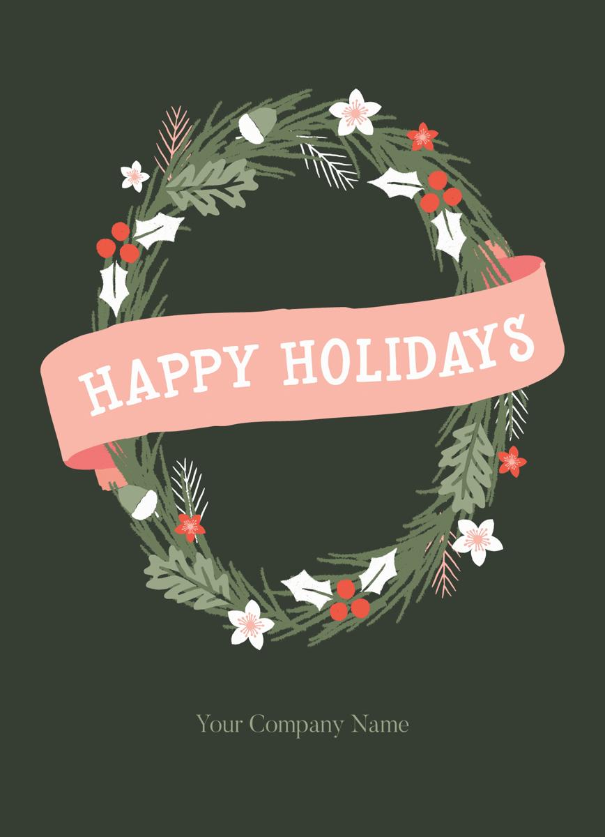 Simple Winter Wreath