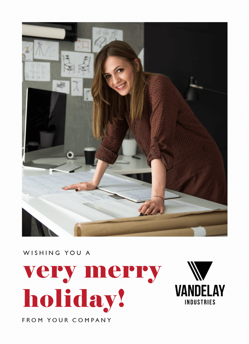 Simple And Merry Holiday