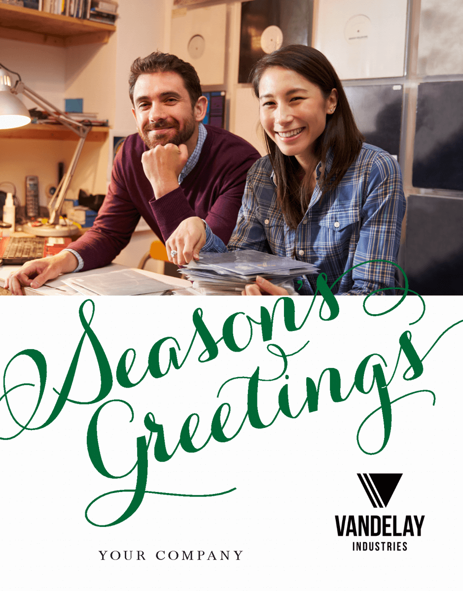 Season's Greetings Holiday Script