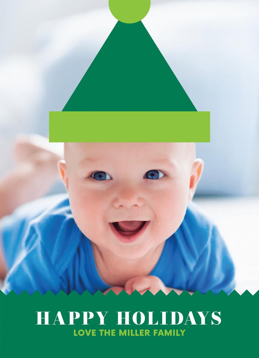 Green Holiday Baby
