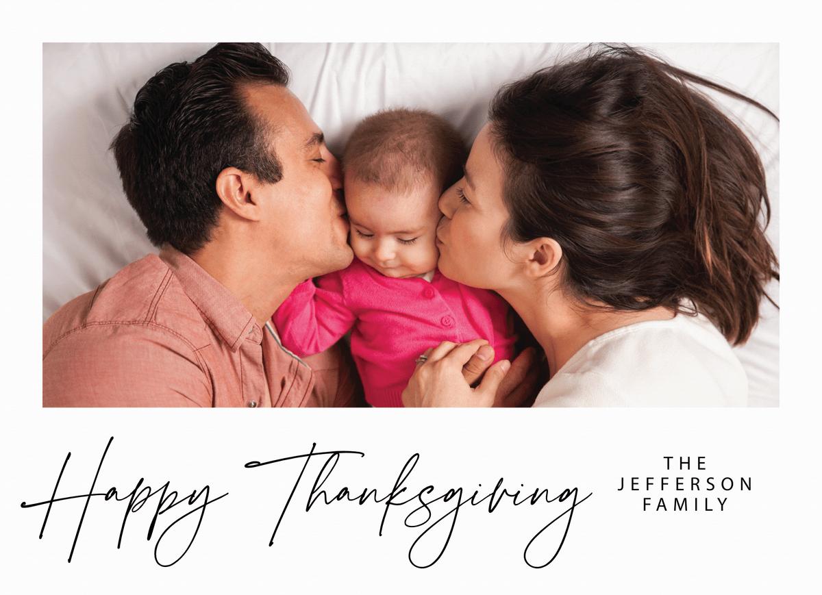 Lovely Script Thanksgiving