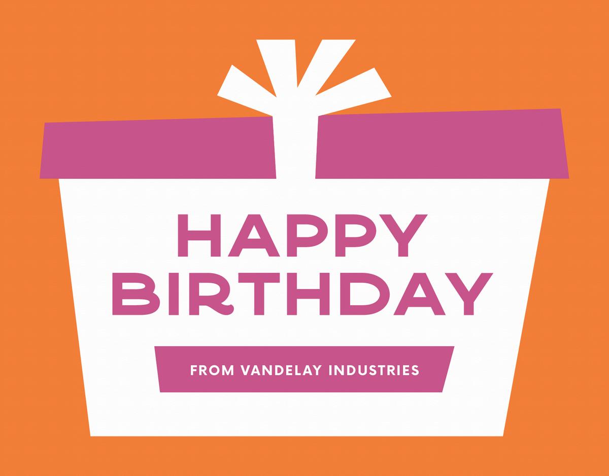 Big Gift Birthday