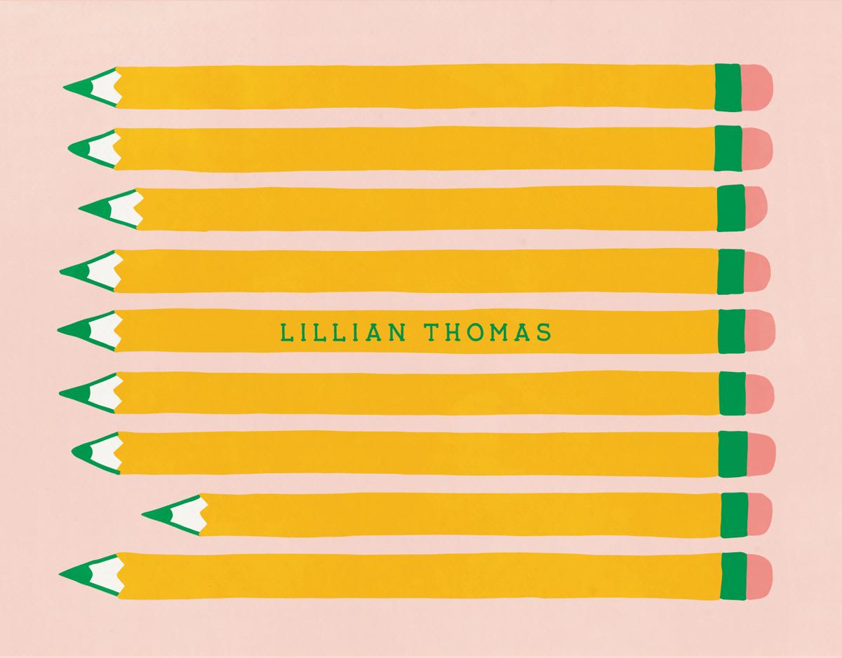 Custom Pencils Stationery
