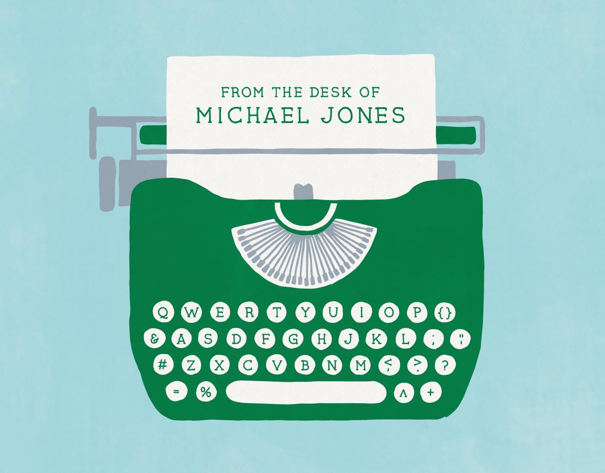 Custom Typewriter Stationery