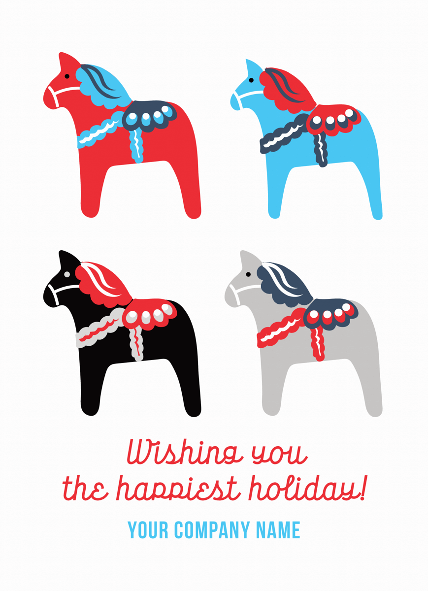 happiest holiday company greeting