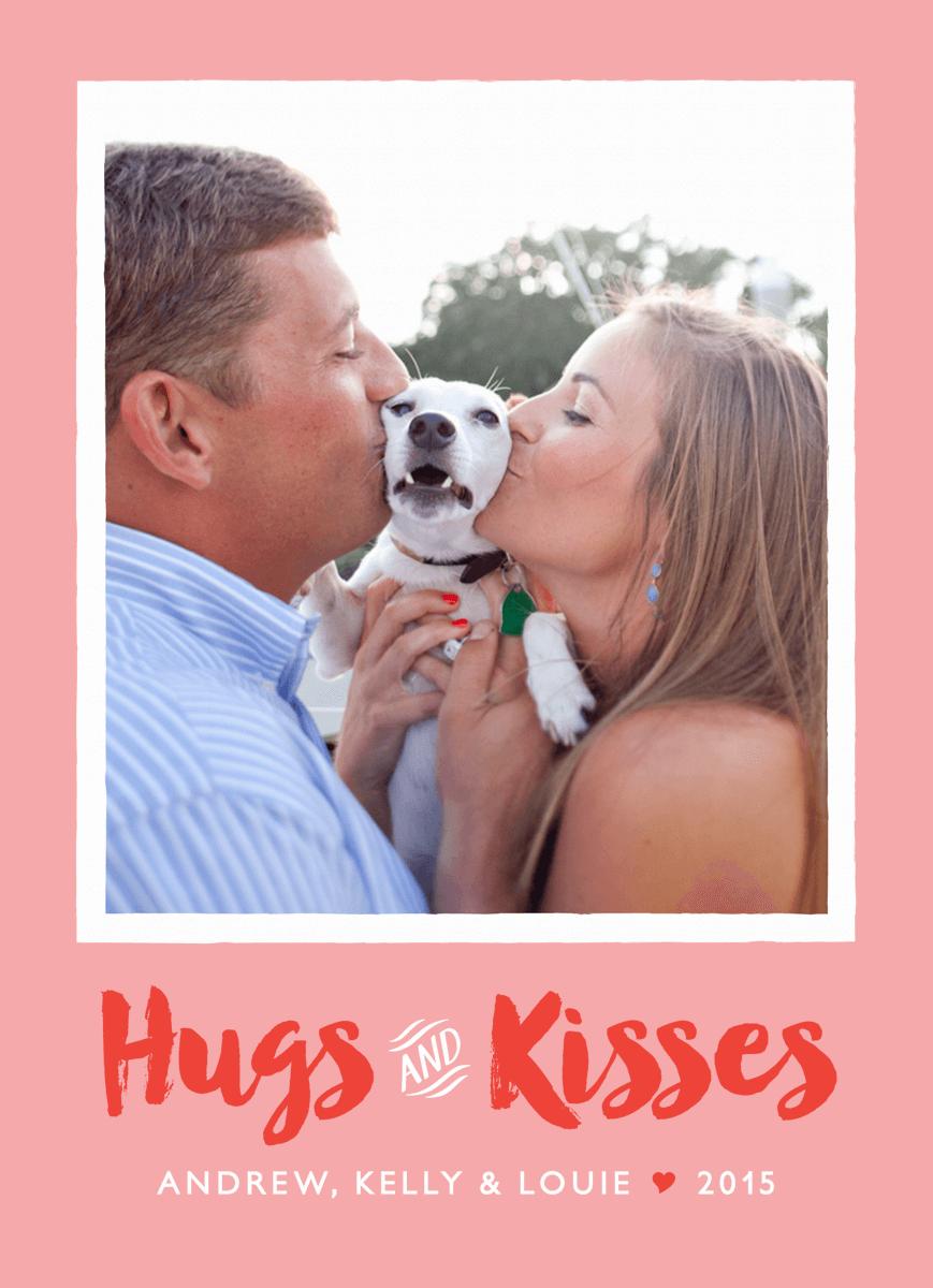 Hugs And Kisses Photo Card