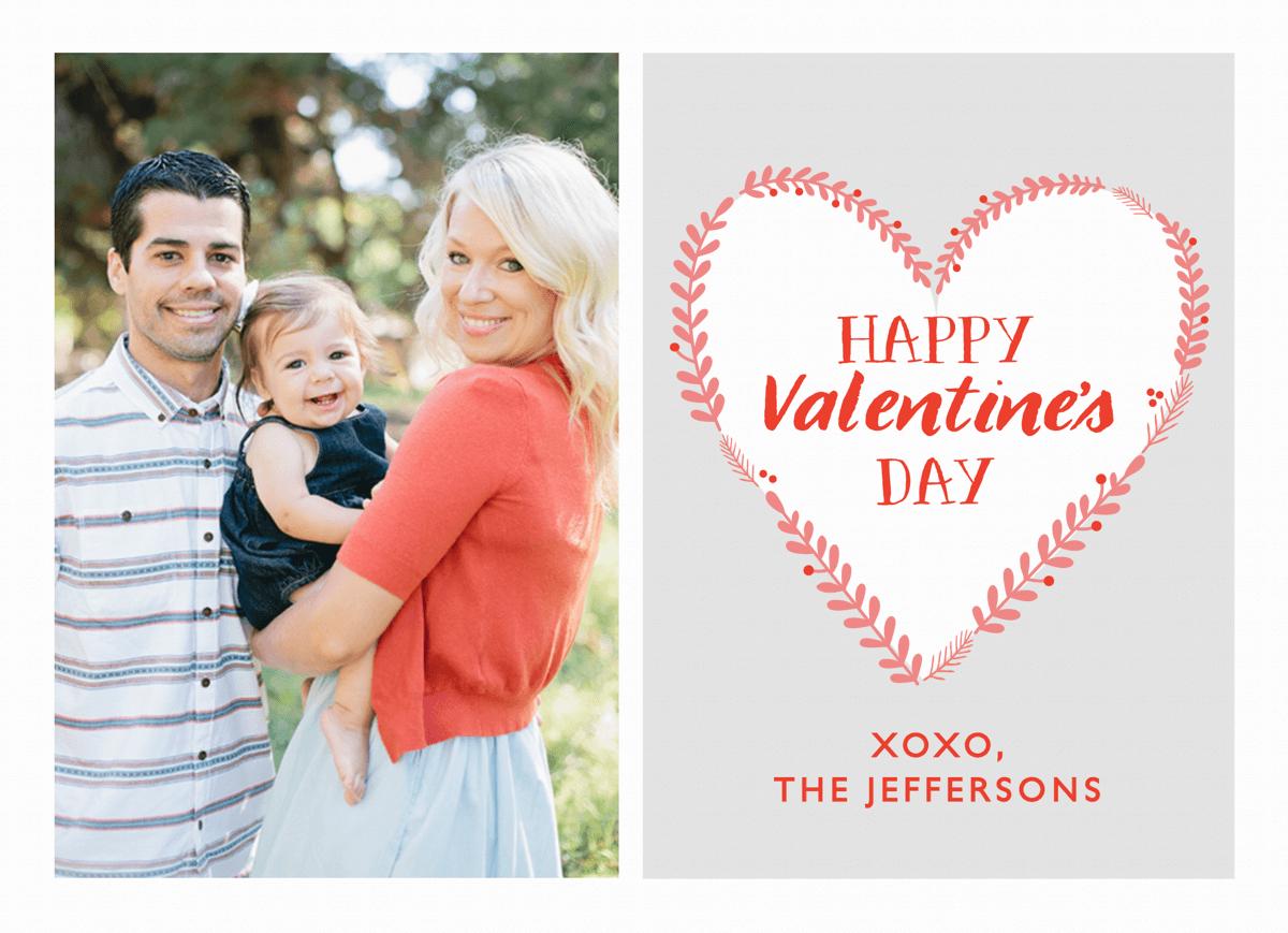 Branch Heart Valentine Card