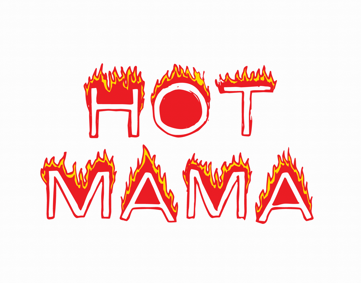 Hot Mama Mother's Day Card