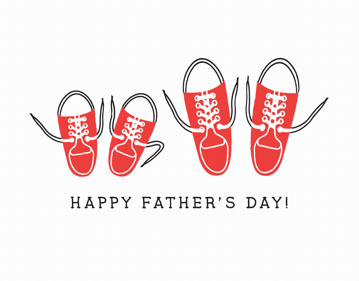 Sweet Dad and Son Father's Day Card