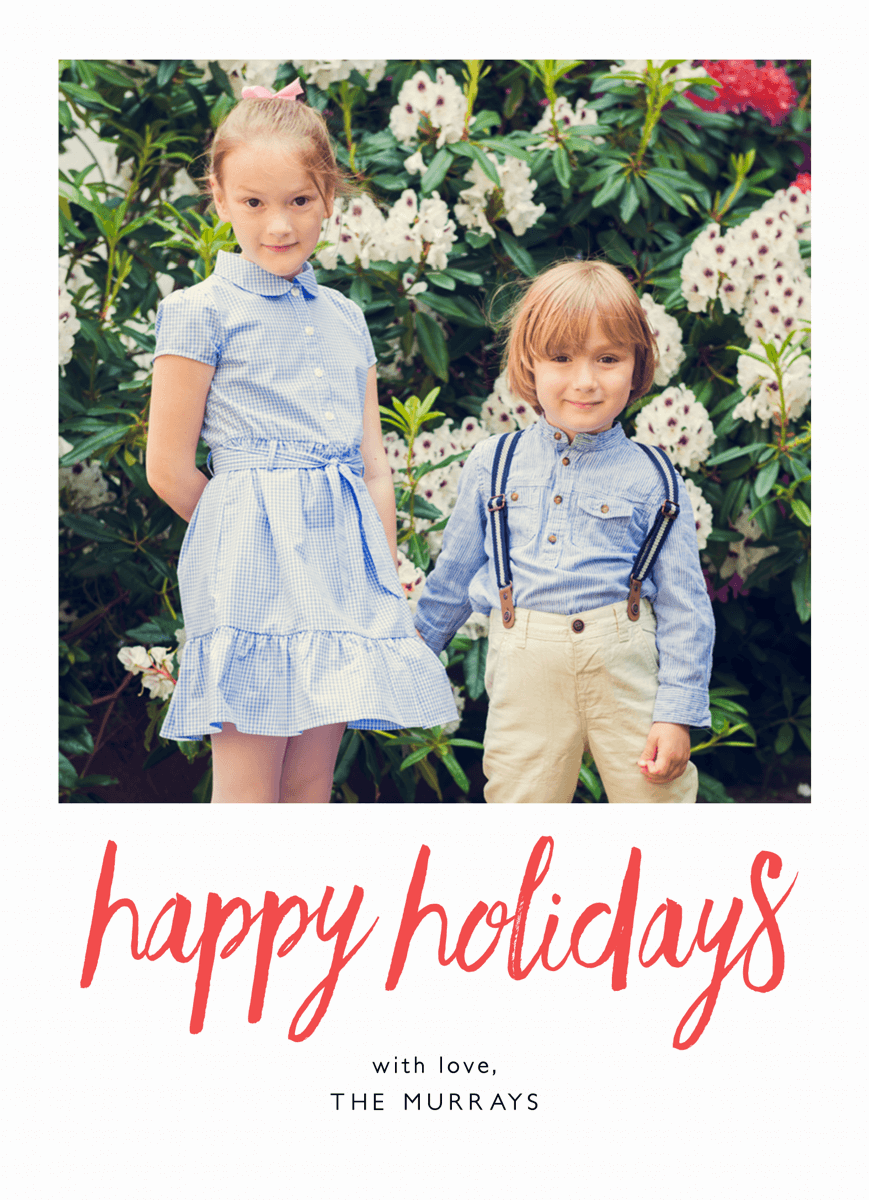 red-happy-holidays-photo-card