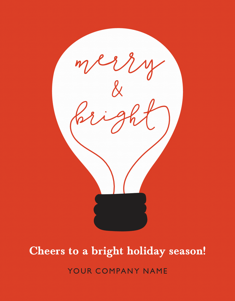 Merry and Bright Bulb