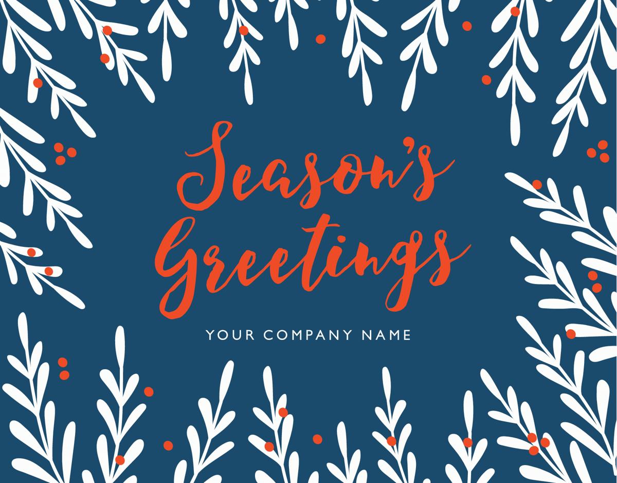 company season's greetings