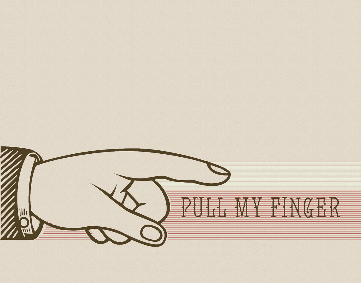 Pull My Finger Card